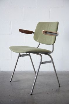 Kho Liang Le Stacking Chair with Bent Plywood Arn Rests: Amsterdam Modern ($200-500) - Svpply