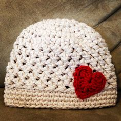 Crochet+Baby+Girl+Hat+Cream+Baby+Girl+Hat+Crochet+by+bearsandboone,+$24.00