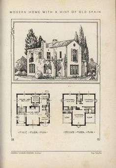 1932--The book of beautiful homes.