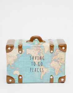 Sass & Belle | Sass & Belle Saving To Go Places Money Box