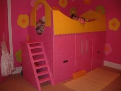 My daughters bed I made, she asked for a house so thats what I gave her.