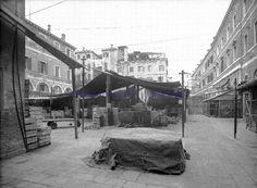 Fruit and Vegetable Market by the Rialto Bridge, Venice