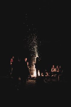 bonfire | via kinfolk