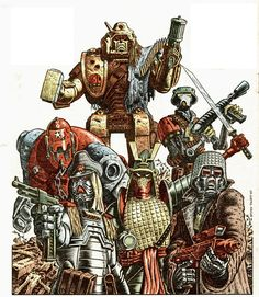 ABC Warriors by Talbot.