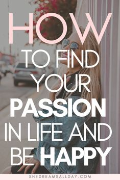 How to find your passion in life and how to be happy and feel fulfilled. Learn how to find your why, how to find yourself and your true calling in life. It's not as hard as you think. #passionproject #dreambig #personaldevelopment Busy Life, Happy Life, Positive Mindset, Positive Quotes, Finding Yourself Quotes, Finding Happiness, Happiness Quotes, How To Find Happiness, Find Your Why