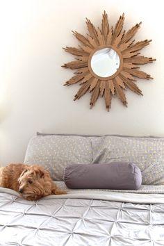 DIY Sunburst Mirror - TheNoshery.com