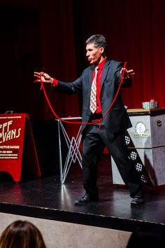Jeff Evans on stage at the Museum of Glass. Photo by Edwin Ortega. Glass Museum, Magic Show, Glass Photo, Corporate Events, The Magicians, Evans, Stage, Entertaining, Celebrities