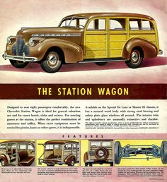 ☜(◕¨◕)☞   1940 Chevrolet Cabriolet & Wagon Foldout-04