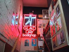 Glad Day Bookshop, one of the oldest lgbt lit book stores in North America