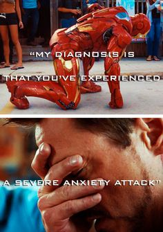 Thank you marvel, for making everyone with anxiety or depression feel a little more ok with it through Tony Stark. Marvel 3, Marvel Heroes, Marvel Movies, Marvel Gems, Iron Man Tony Stark, Robert Downey Jr, Marvel Cinematic Universe, Jessica Jones, Guardians Of The Galaxy