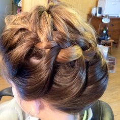 Pony plait by Formal Elegance Hair and Makeup Studios