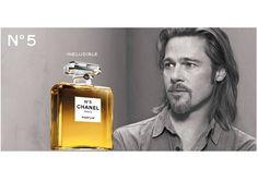 Chanel nº5.  Brad Pitt. 2012