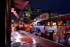 Night/Rain and Redmond Oregon 5/16/2013