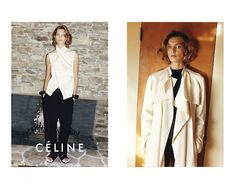 Daria Werbowy and Stella Tennant get sporty for the spring 2011 campaign from Céline. Photographed by Juergen Teller, Daria and Stella wear the label's… Daria Werbowy, Celine Campaign, Play Clothing, Beauty Crush, Stella Tennant, Juergen Teller, Bombshell Beauty, Phoebe Philo, Parisian Style