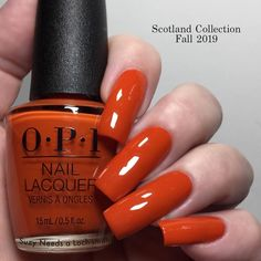 """@izabelladi9 """"This is Suzi Needs a Loch-smith OPI Scotland - Fall 2019 Collection (7/12) - it is cream - opaque in 1-2 coats (depending on your application) - it stamps well only on a light background - on the last picture there are similar colors for comparison"""""""