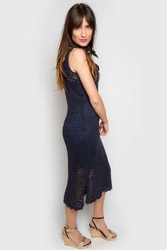 Alexa Crochet Dress
