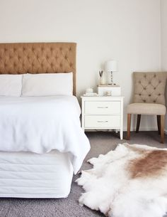 tufted upholstered diy headboard