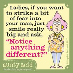 Aunty Acid for 7/21/2017