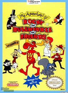 The Adventures of Rocky and Bullwinkle and Friends - NES