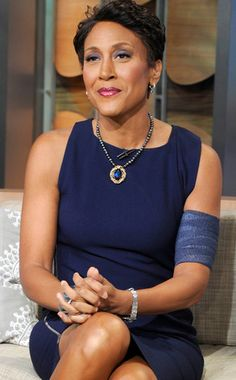 Robin Roberts god bless# hope for good recover Great Women, Amazing Women, African American Women, African Americans, Robin Roberts, Executive Woman, I Love Basketball, Famous Women, Famous People