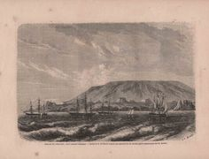 French Engraving from 1860- The Galapagos Islands Coast by reveriefrance on Etsy
