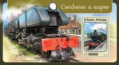 ST16413b Steam trains (GWR 4200 Class 4277) Trains, Stamps, Outdoor Decor, Seals, Postage Stamps