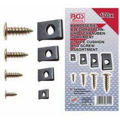 Surtido 170 piezas de tornillos y tuercas www.motortool.es