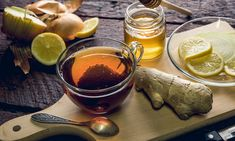 Honey-Ginger-Lemon Tea Will Cure Your Cold