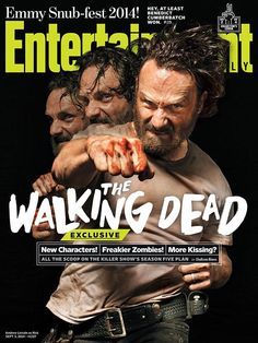 Entertainment Weekly has revealed four new collectible covers that will grace their upcoming issue featuring the stars of AMC's The Walking Dead including Andrew Lincoln, Norman Reedus, Steven Yeun, Lauren Cohan and Danai Gurira.