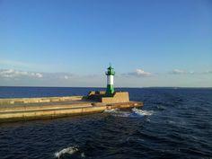 Sassnitz - Hafen Lighthouses, Cn Tower, Building, Travel, Landscapes, Baltic Sea, Island, Architecture, Viajes