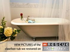 Diy Clawfoot Bathtub Refinish For 25 Furniture Projects