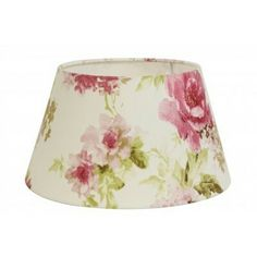 Lampshade with roses