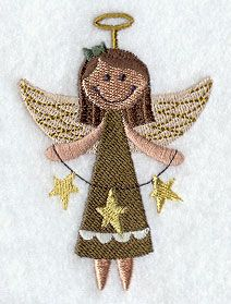 Country Angel 3 design (G8065) from www.Emblibrary.com