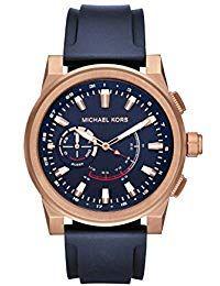 2ab875aef729 Michael Kors Reloj Analogico para Hombre de Cuarzo con Correa en Silicona  MKT4012 Relojes Hombre
