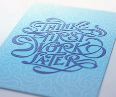 Letterpress Love x Andrei Robu on Behance