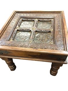 indian carved wood coffee table - One with the big difficulty with using a coffee table is resisting. Tree Stump Coffee Table, Door Coffee Tables, Lucite Coffee Tables, Coffee Table With Shelf, Coffee Tables For Sale, Reclaimed Wood Coffee Table, Glass Top Coffee Table, Rustic Coffee Tables, Coffe Table