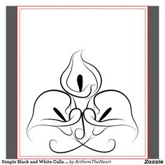 Calla Lily Outline | galleryhip.com - The Hippest Galleries!
