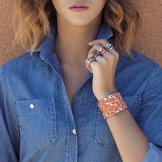 Les bagues et bracelets sont en ligne sur la bijouterie en ligne et dispo dans certains de nos magasins ! Une super idée tendance !