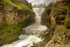 White River Falls, south of The Dalles, Oregon I live here and didn't know about it! Lol