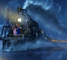 All Aboard! Real-Life Polar Express Chugs Through Michigan Polar Express Movie, Polar Express Train, Animated Christmas Movies, Fred Claus, Christmas Quiz, Xmas, Winter Christmas, Train Movie, Travel Around The World