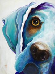 Dogs Breeds Pet-Portraits Dog-Painting-Artist Ed Hofer