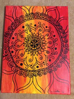 Inner Peace 2 by PaintingsbyTeri on Etsy