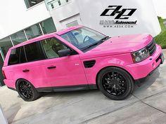 Range Rover Sport Pink | Car Sport