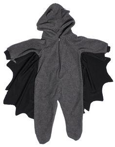 747f85c40b Newborn sleeper photo prop baby sleeper baby 3 to 18 months grey fleece bat  sleeper with wings