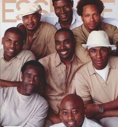 CLASSIC ESSENCE COVER - Sexy black men-too many to count-I just need one!!! LOL!!!!