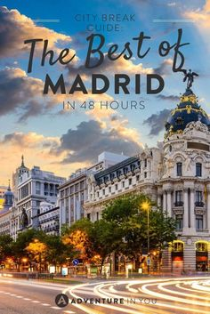 Here's how you can see the best of Madrid in 2 days! madridfoodtour.com
