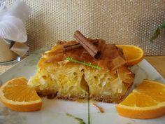 Ζουμερή πορτοκαλόπιτα της μαμάς που λιώνει στο στόμα Dessert Recipes, Desserts, Greek Recipes, Cheesesteak, Food And Drink, Sweets, Ethnic Recipes, Gladiolus, Cake Ideas