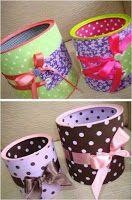 artesanato, latas recicladas, tecido, fitas, renda, lembrancinhas, decoração, passo à passo, presentear, presente
