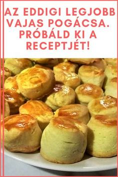 Hungarian Recipes, Recipe Boards, Low Carb Recipes, Baked Potato, Bakery, Dessert Recipes, Food And Drink, Appetizers, Bread