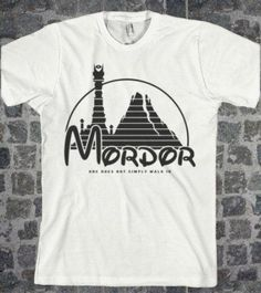 Visit kpopcity.net for the biggest discount fashion store worldwide! Over thousands of styles to choose from Lord of the Rings Inspired lotr AMERICAN APPaREL shirt Mordor Parody Sizes S M L XL - Fathers Day ones does not simply walk in quote on Etsy, $22.00